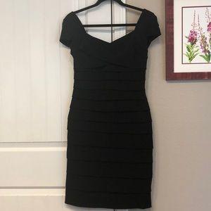 WHBM Instantly Slimming Black Dress